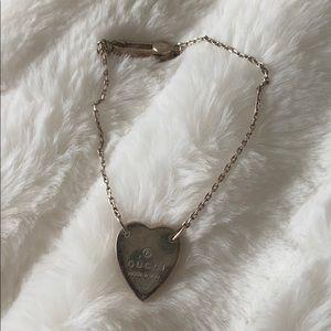 Silver Gucci Bracelet